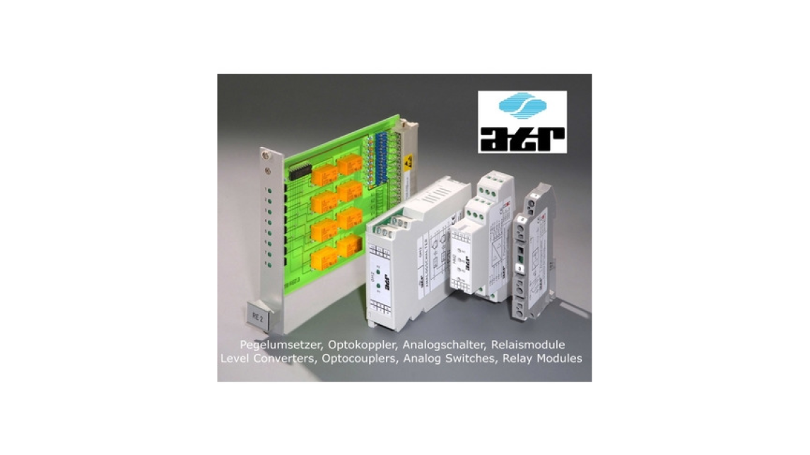 Logo Gold Contact Relay Module, 2-channels, ATR RM2