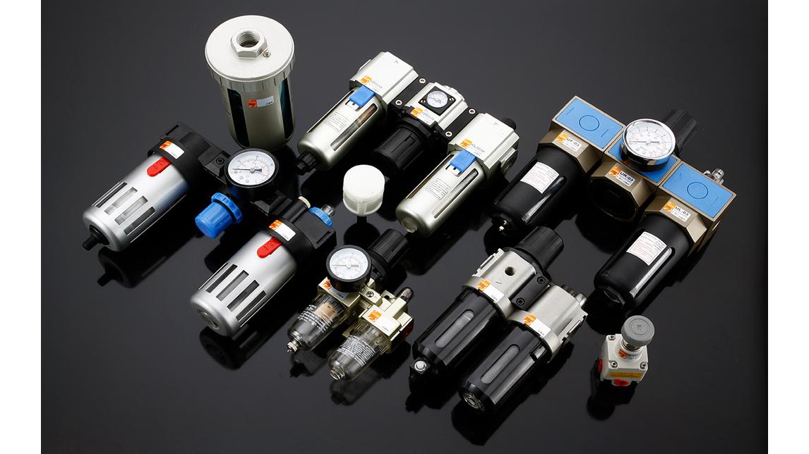 Logo cylinder, valve, air source treatment