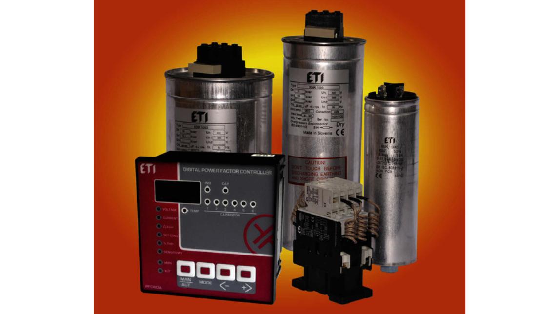 Logo Reactive Power Compensation Components
