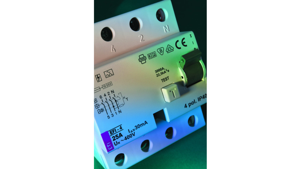 Logo Fault current safety switches up to 1 kV
