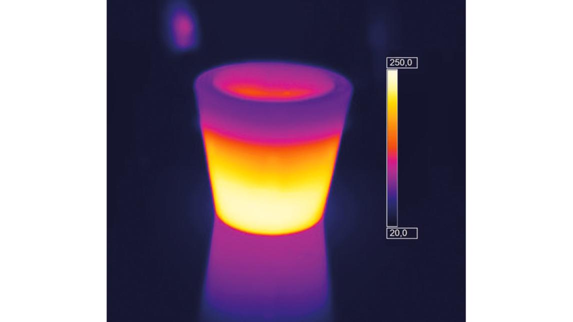Logo Glass heating elements