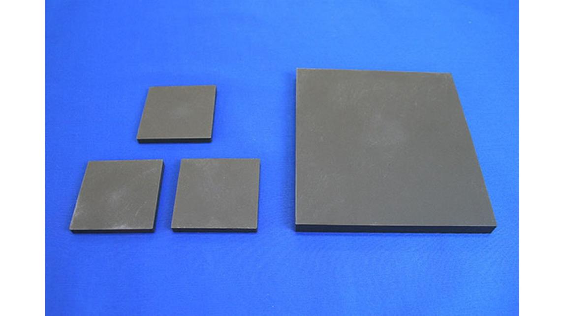Logo Lens holder black color Steatite ceramic