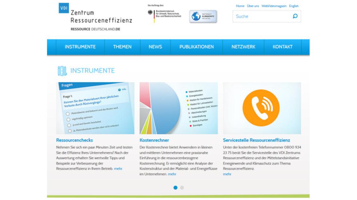 Logo Instrumente des VDI ZRE