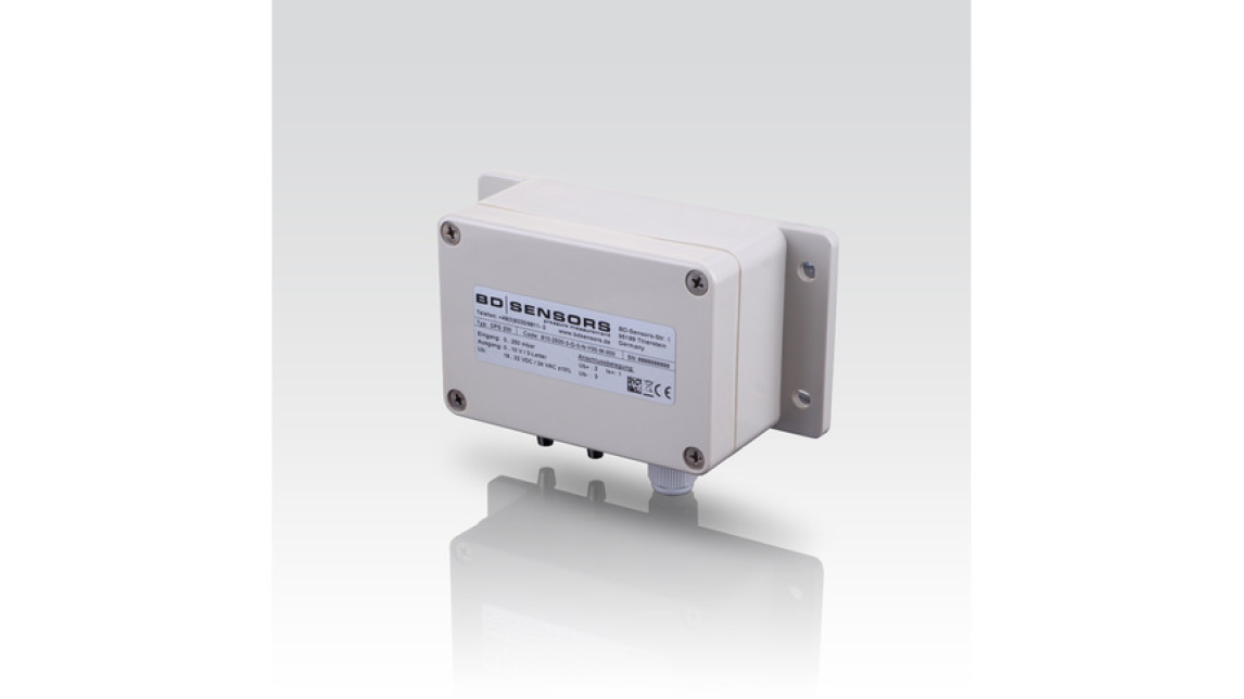 Logo DPS 200 - Differential Pressure Transmitter for Gas and Compressed Air