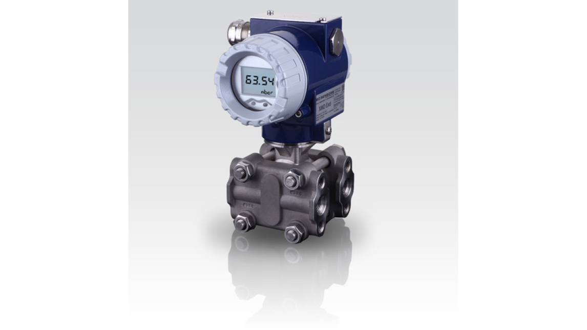 Logo XMD - differential pressure transmitter for prozess industry