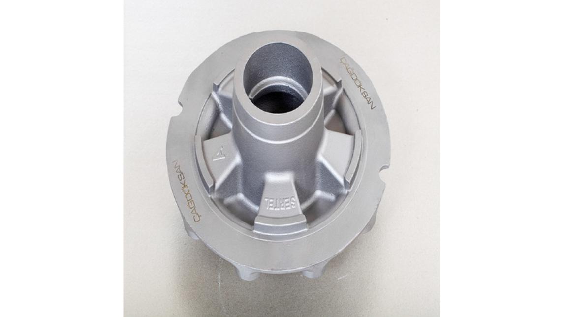 Logo axle wheel hub