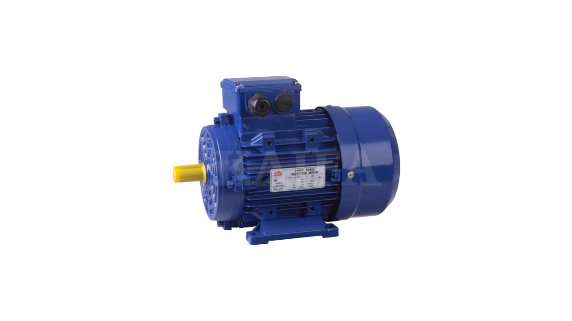 Logo MS series three phase aluminum motor