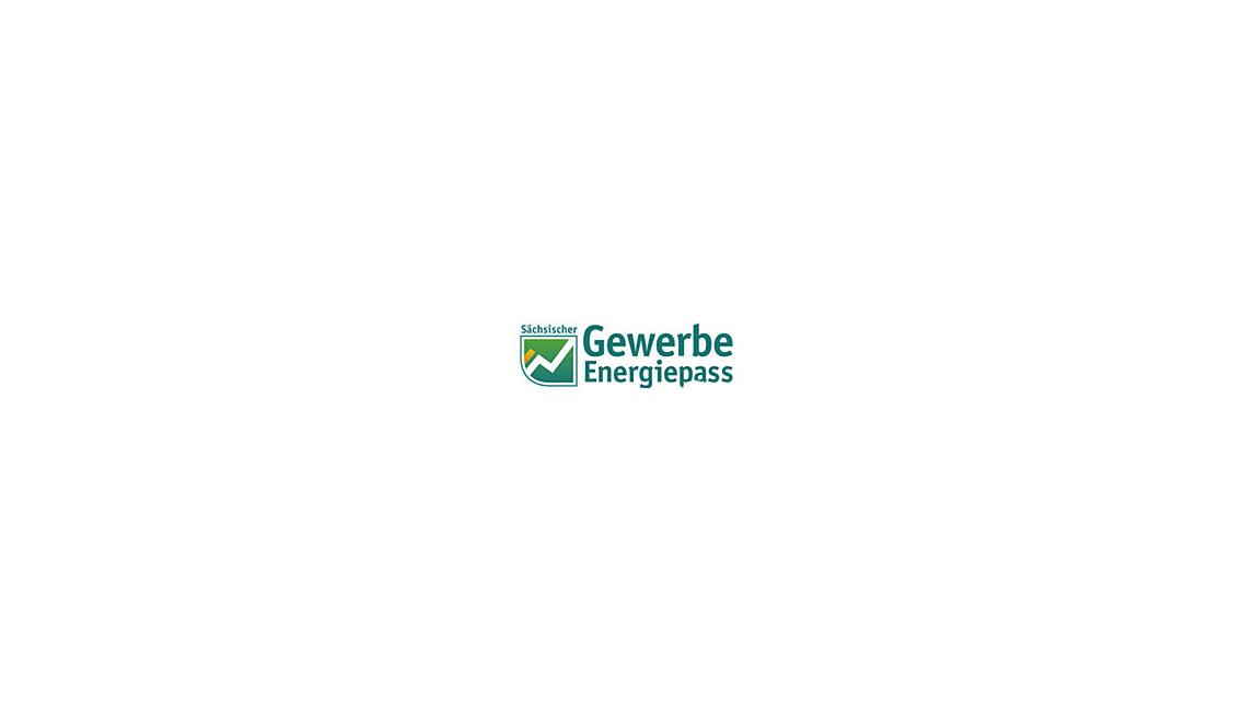 Logo Sächsischer Gewerbeenergiepass
