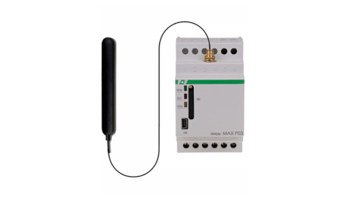 Logo SimplyMax P03 GSM with temp probe