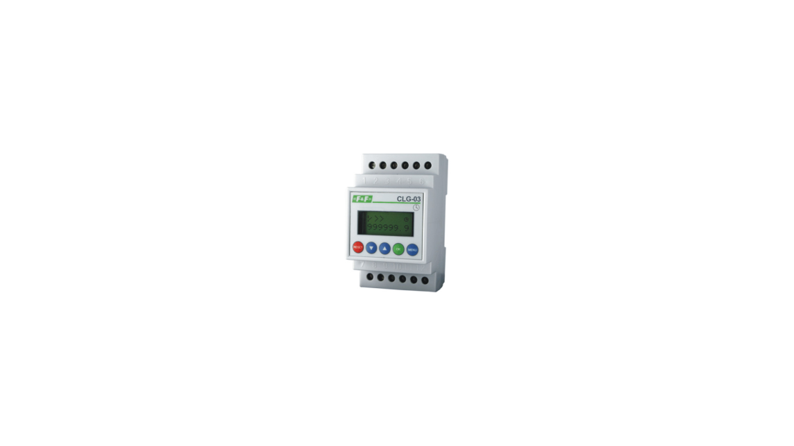 Logo CLG-03 Programmable, multifunction electronic meter.