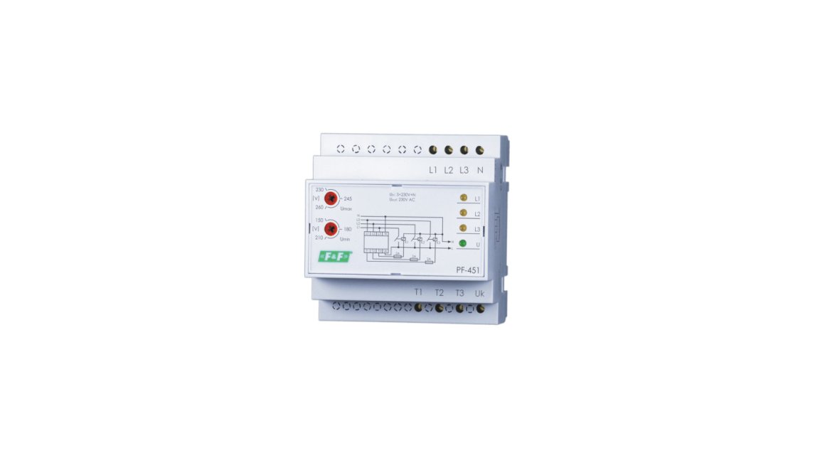 Logo PF-451  Automatic phase switches