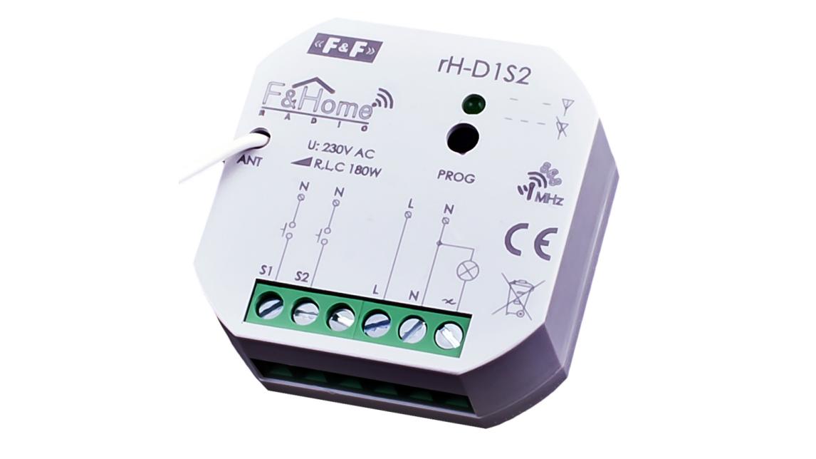 Logo F&Home Radio Intelligent Home System