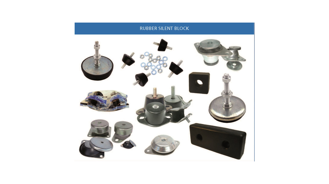 Logo Rubber-Metal Parts