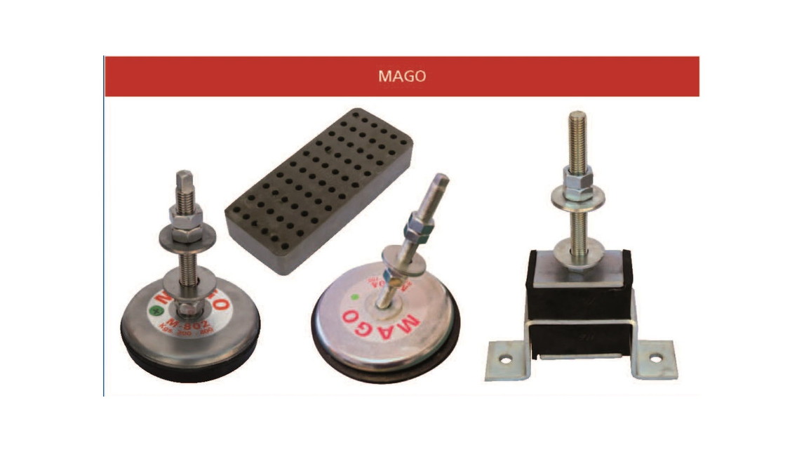 Logo Mago Antivibration Mounts
