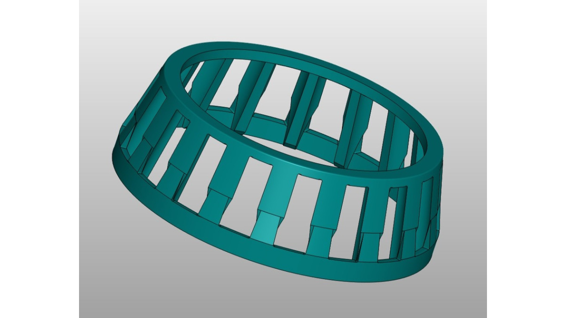 Logo cages for bearings