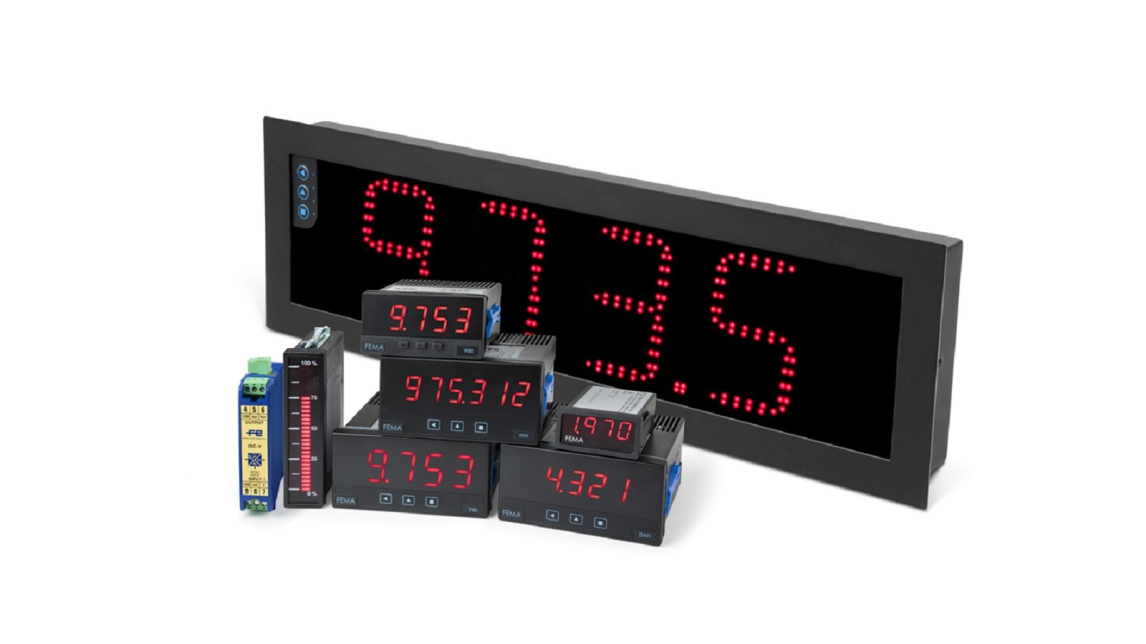 Logo Digital panel meters, converters
