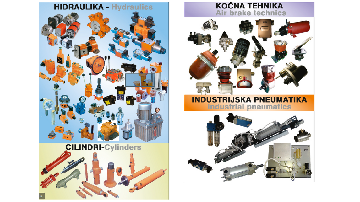 Logo Hydraulic, pneumatic units and systems