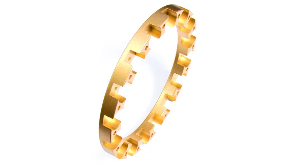 Logo Monolite Brass Bearing Cages - Third Gen