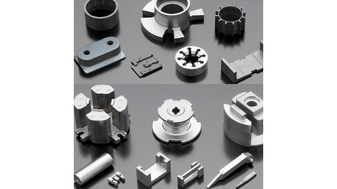 Logo Soft-magnetic sintered parts