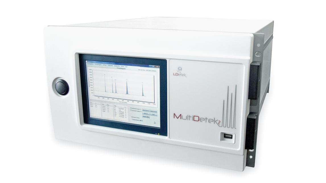 Logo MultiDetek2 Compact Gas Chromatograph