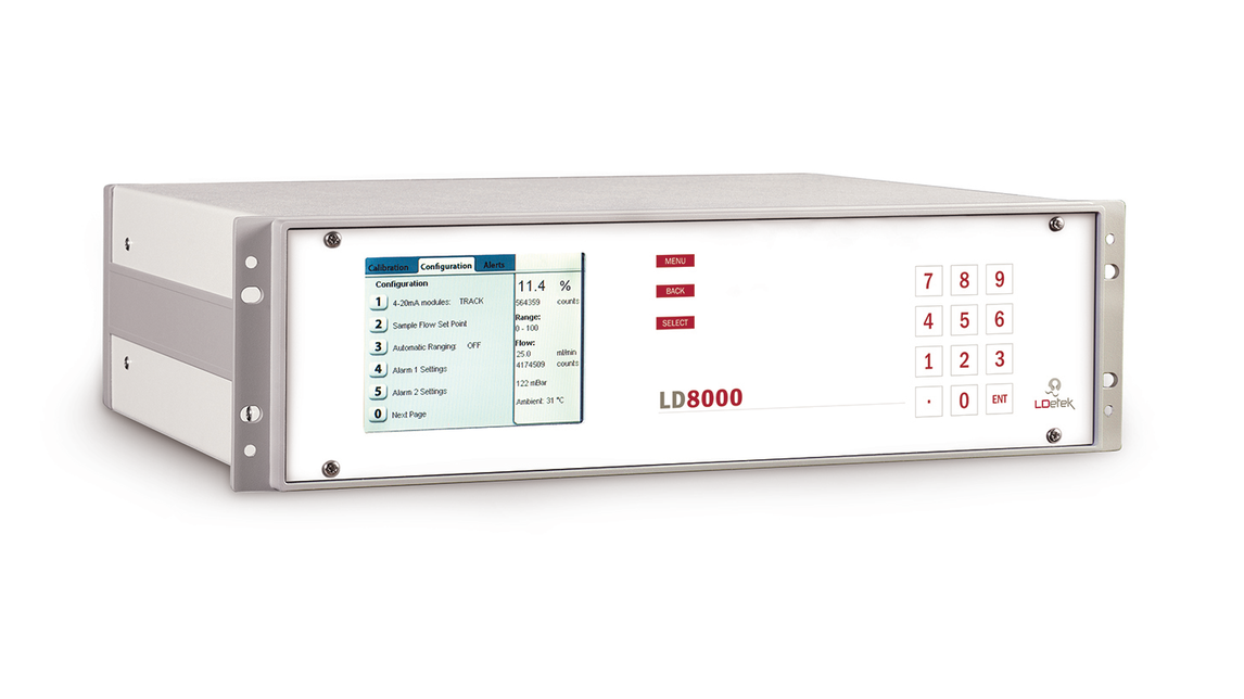 Logo LD8000-TCD Binary Gas Analyzer