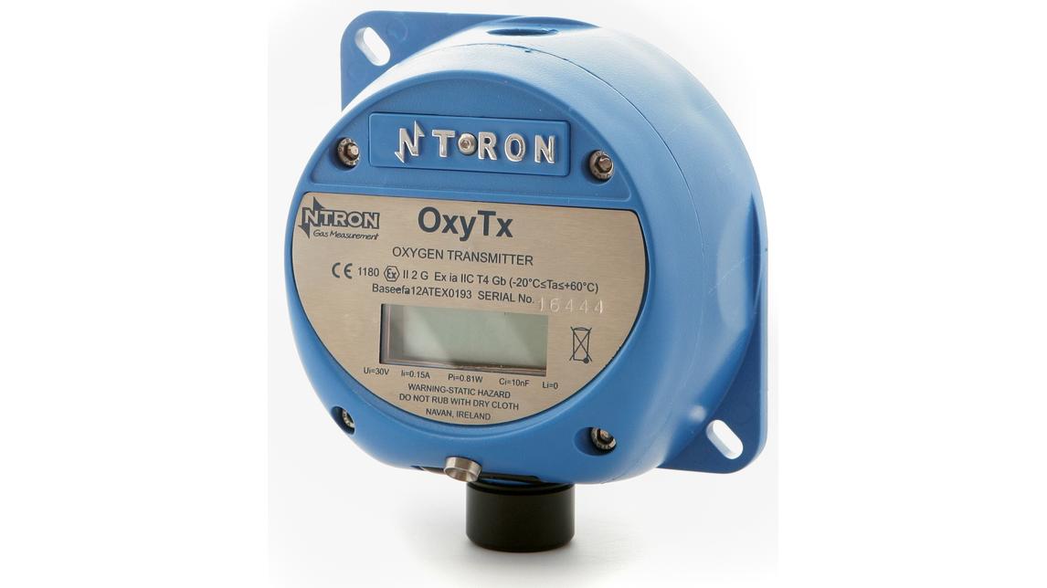 Logo OxyTx Sauerstoff Analysator/Transmitter