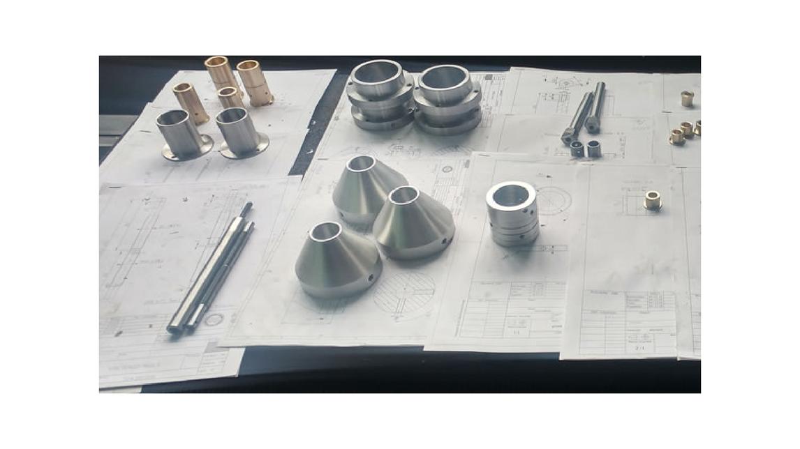 Logo CNC machine processing