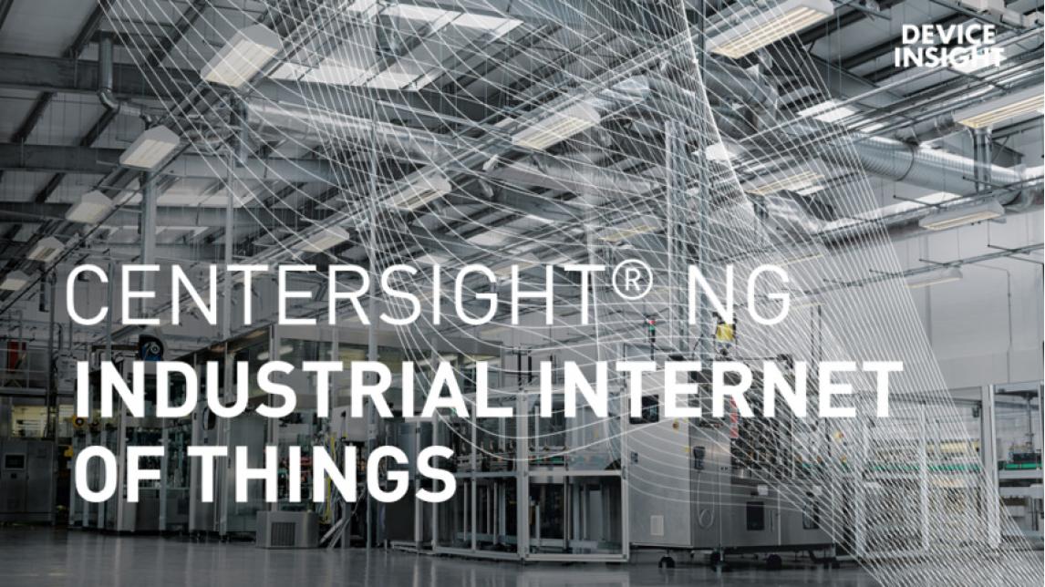 Logo CENTERSIGHT® NG Industrial IoT