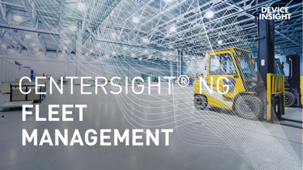 Logo CENTERSIGHT® NG Fleet Management
