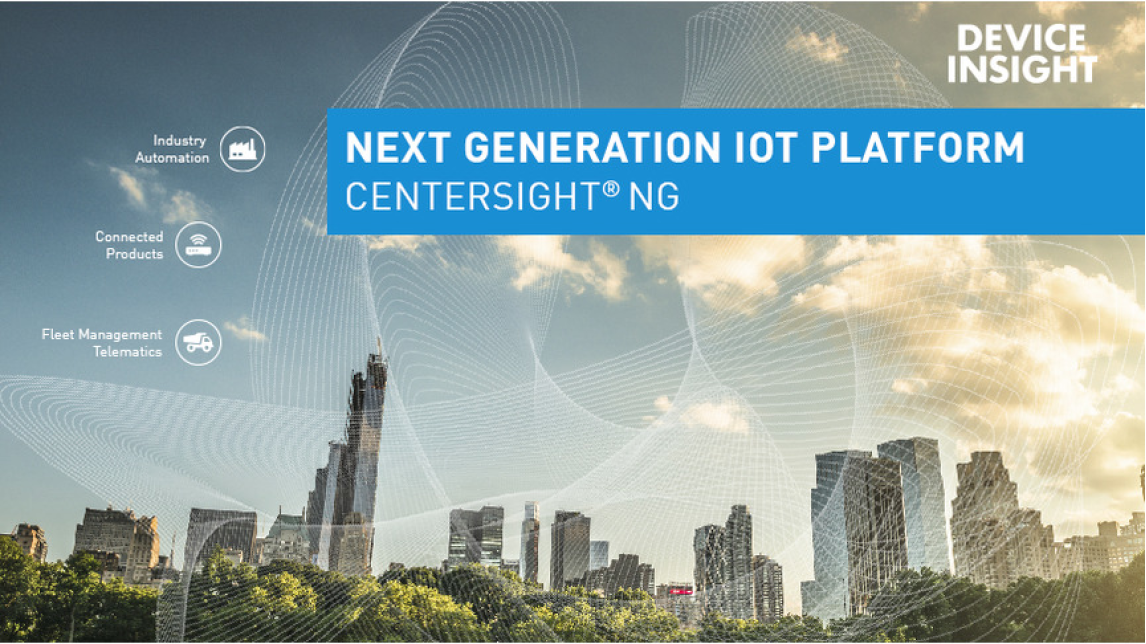 Logo CENTERSIGHT® NG - The IoT Platform