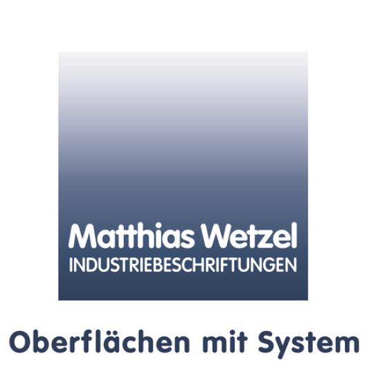 Matthias Wetzel INDUSTRIEBESCHRIFTUNGEN