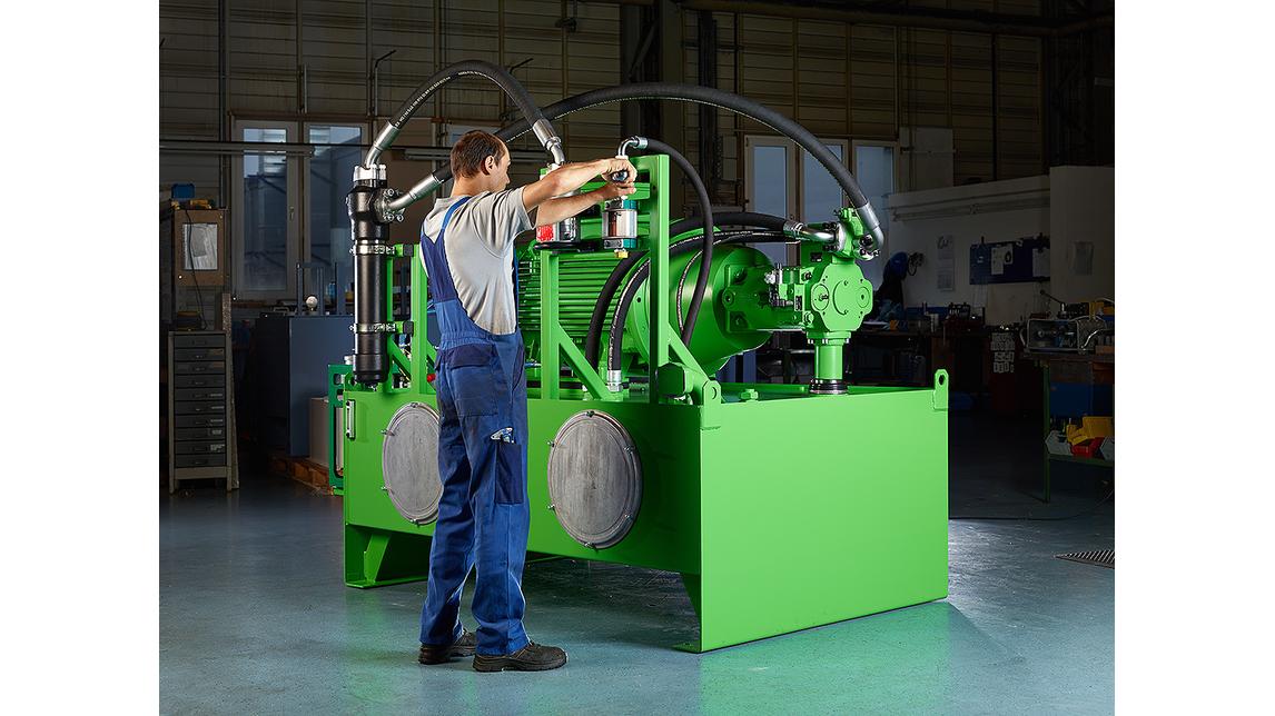 Logo Hydraulic Installation Service