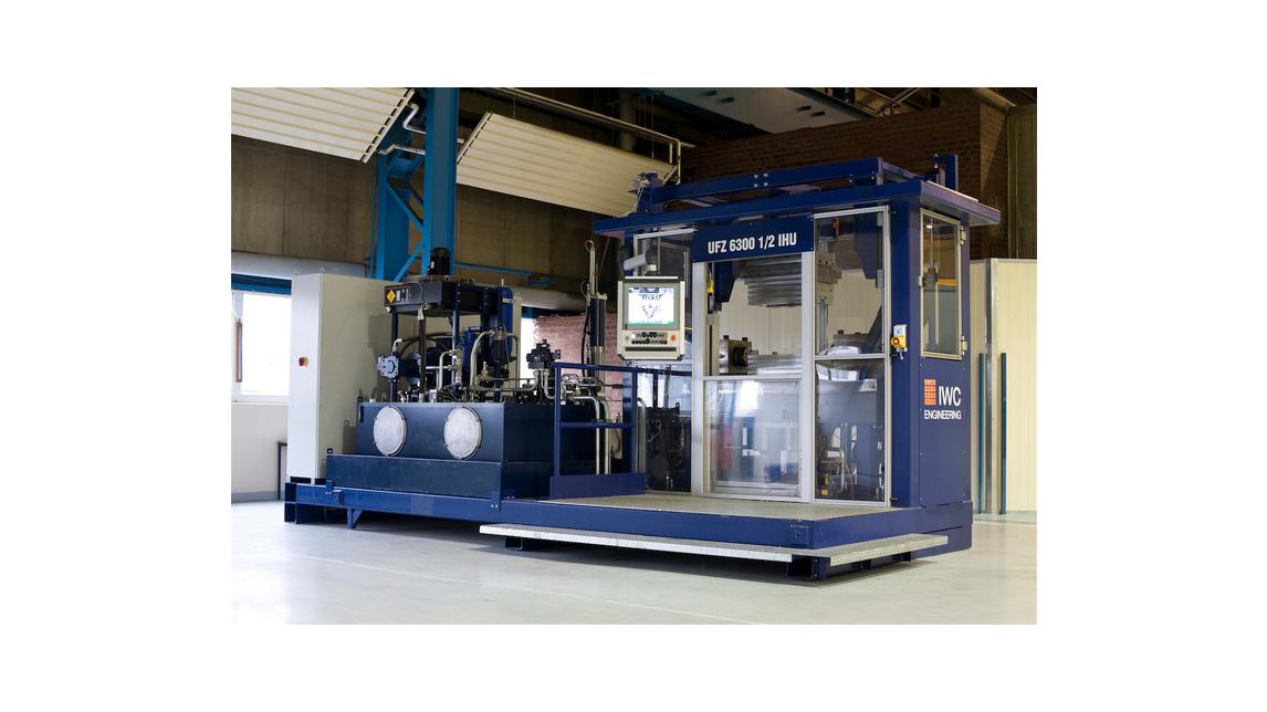 Logo water hydraulic power unit for IHU-press