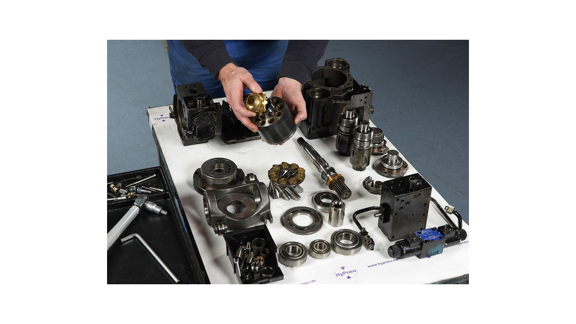 Logo repairservice hydraulics