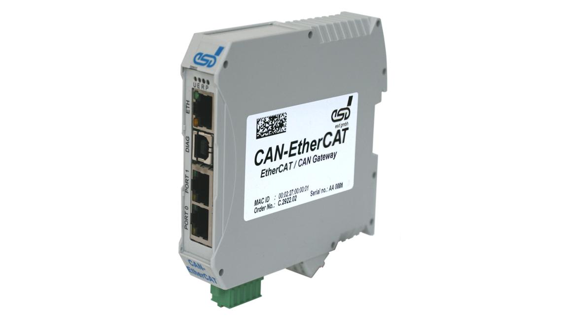 Logo EtherCAT®-CAN Gateway