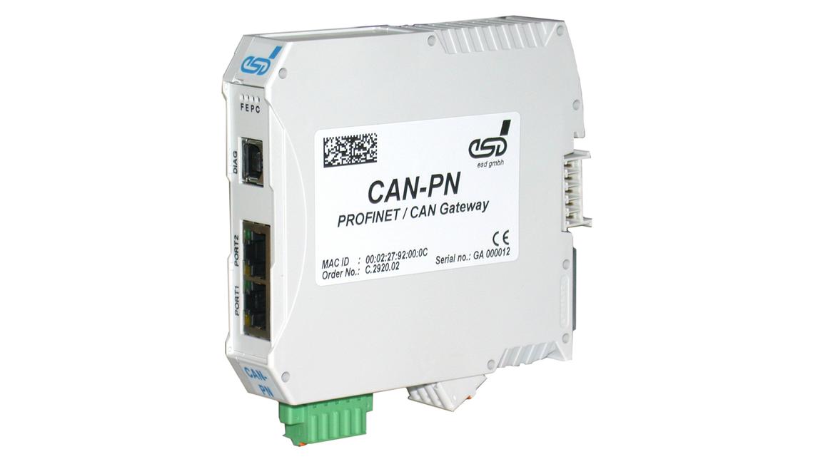 Logo PROFINET-I/O / CAN Gateway