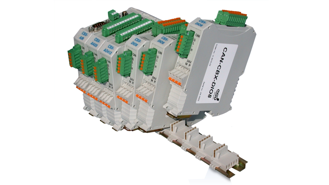 Logo CAN-Input/Output Modules with InRailBus