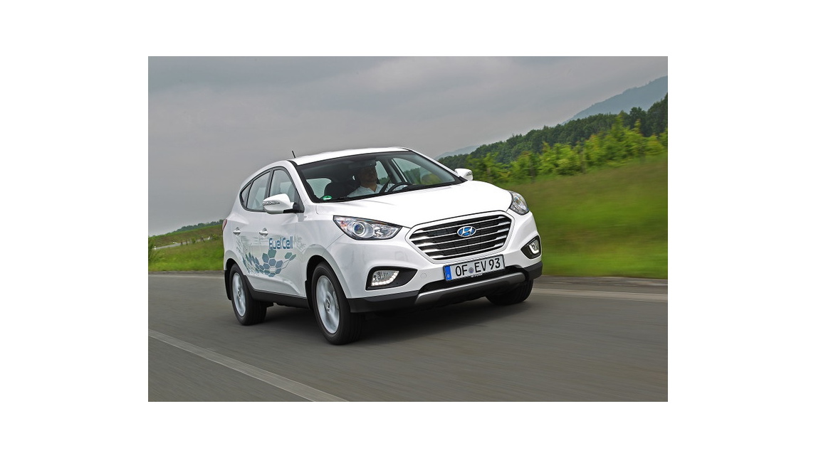 Logo Model: Hyundai ix35 Fuel Cell