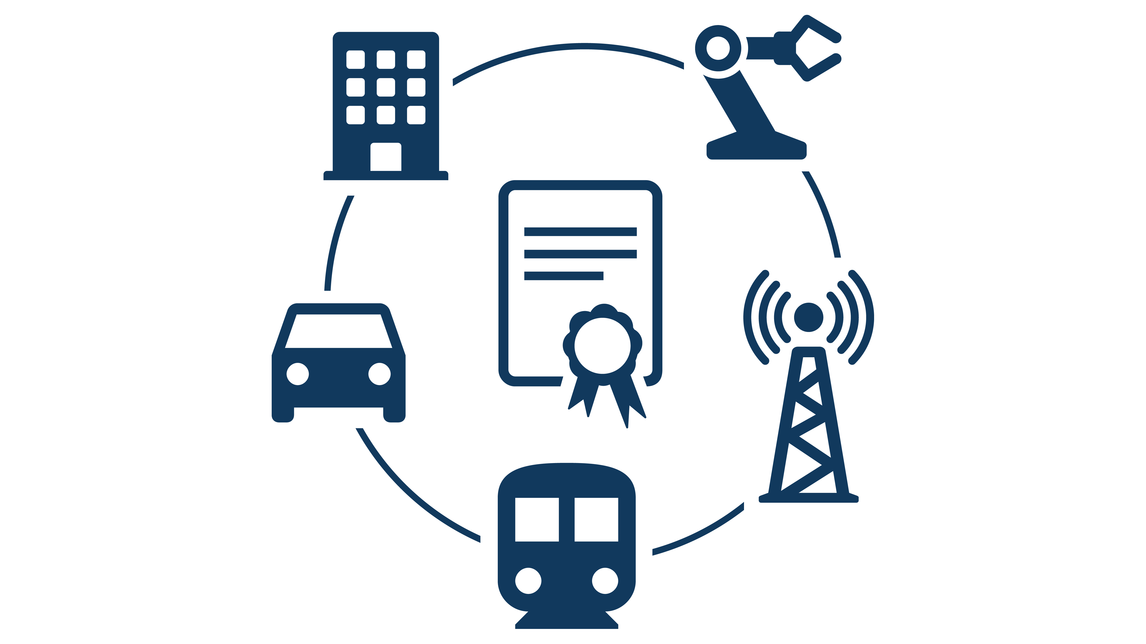 Logo Secure IoT infrastructure
