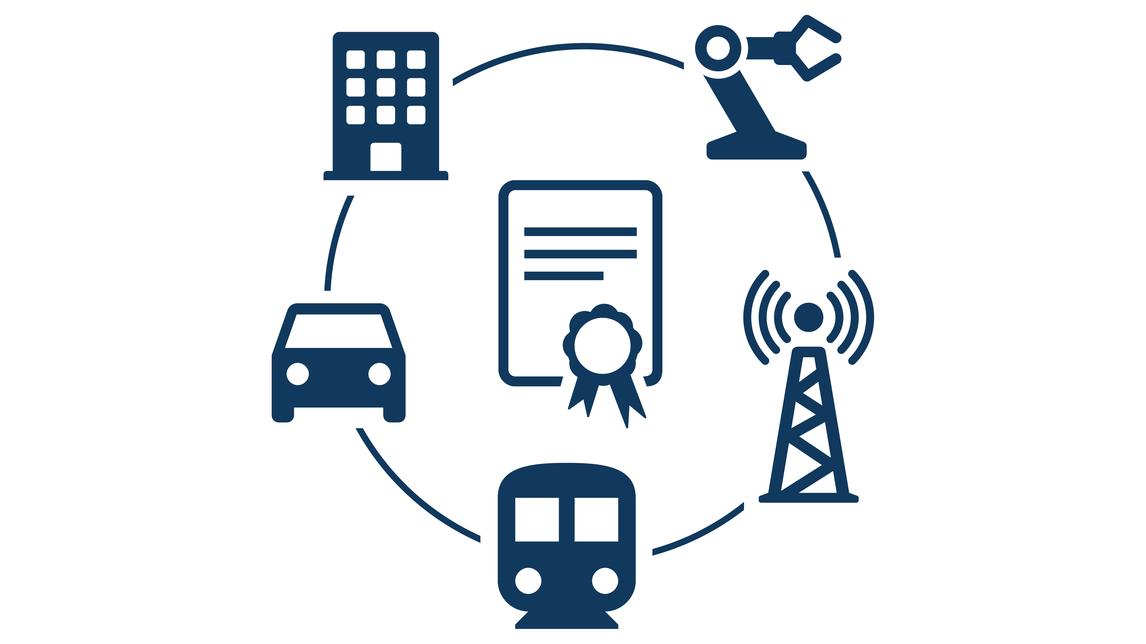 Logo Sicherheit für das Internet der Dinge
