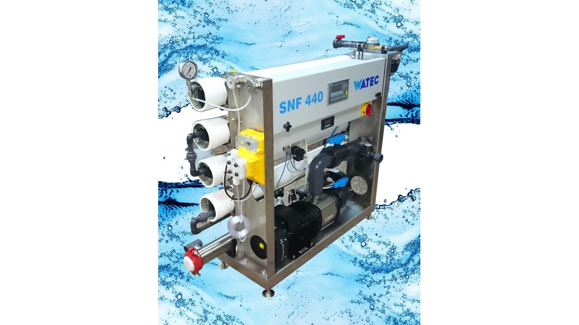 Logo Nanofiltration system NSF40