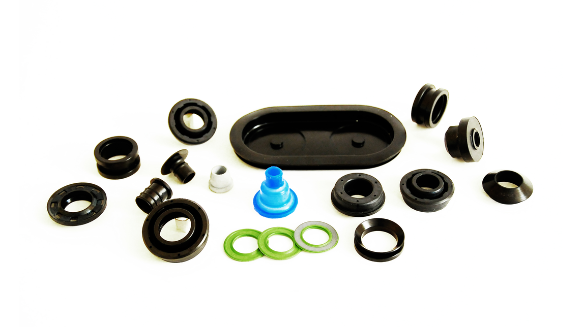 Logo Rubber and rubber-metal parts