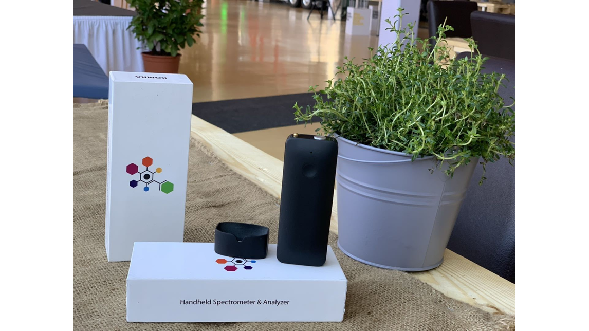 Logo Handheld 4in1 spectrometer powered by AI