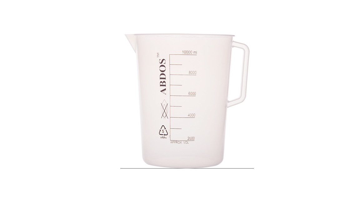 Logo Abdos Beakers With Handle