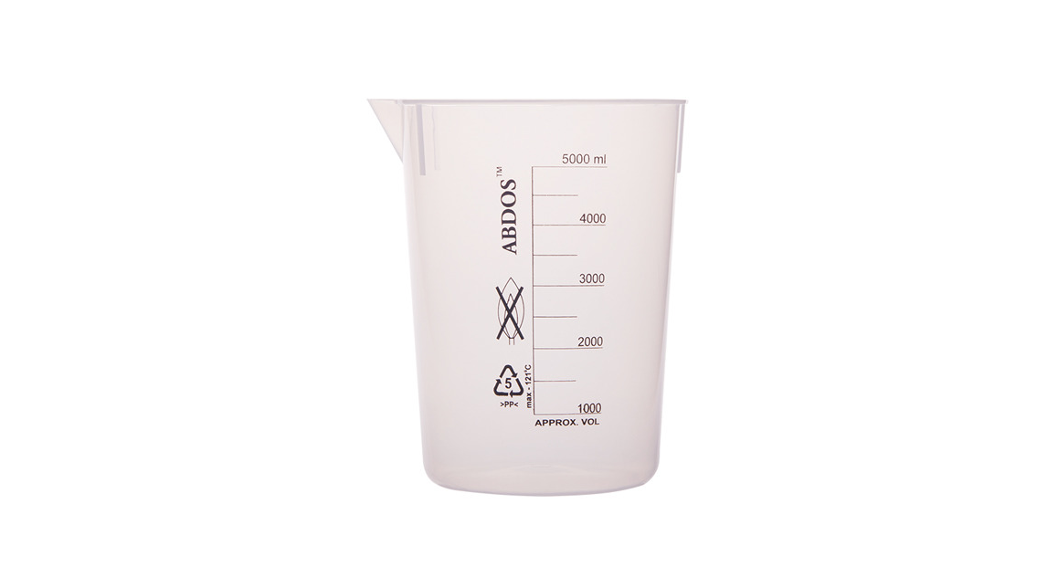 Logo Abdos Beakers Without Handle