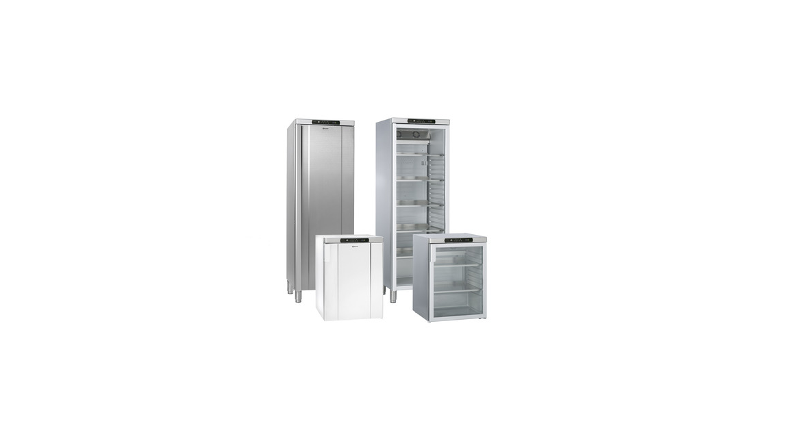 Logo 500 to 1400 L explosion protected  refrigerators and freezers f. GRAM