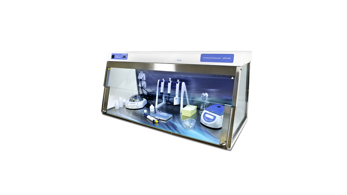 Logo DNA/RNA UV-cleaner box, UVT-S-AR