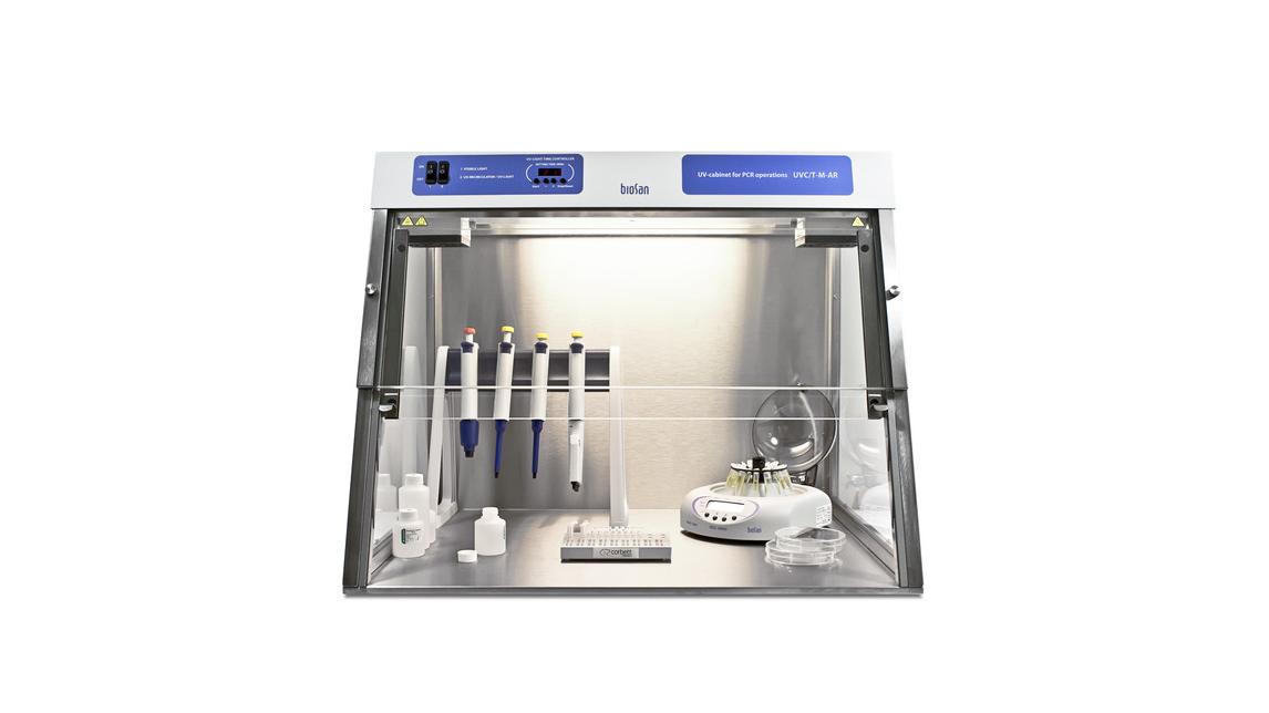 Logo DNA/RNA UV-cleaner box, UVC/T-M-AR
