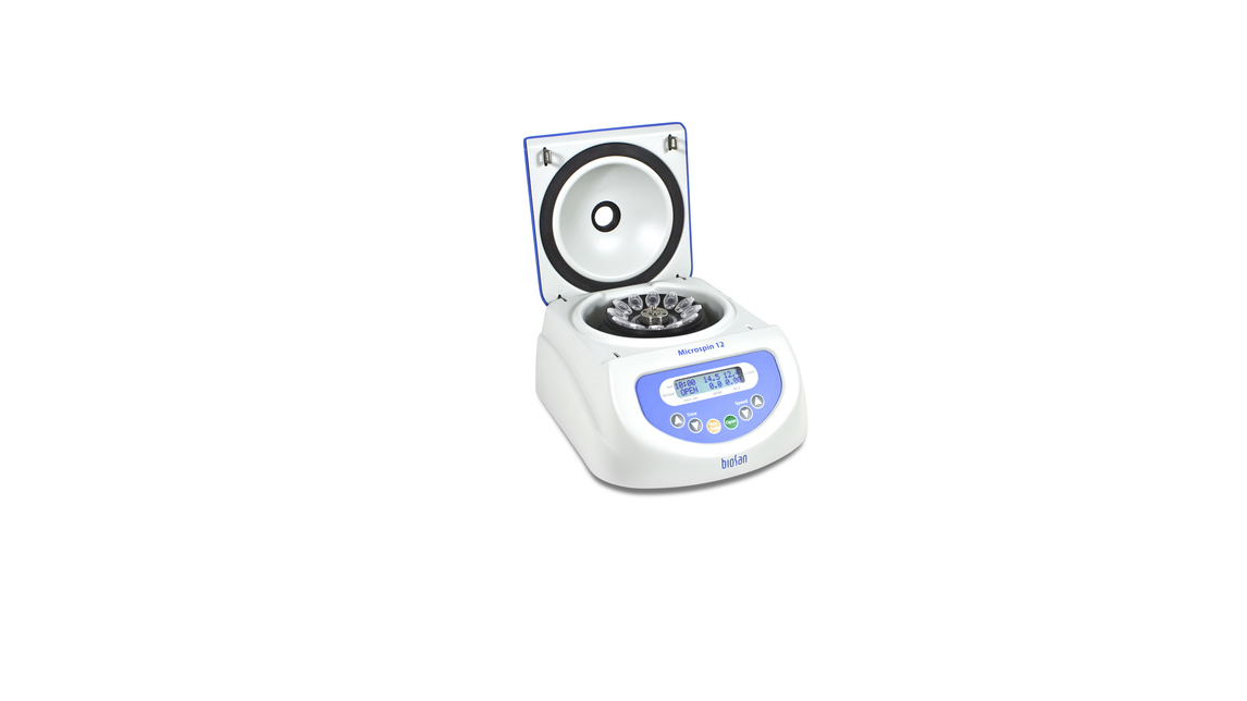 Logo High-Speed Mini-Centrifuge, Microspin 12