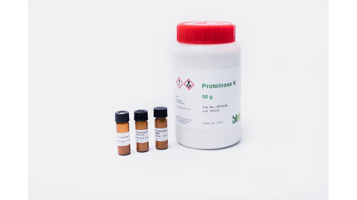 Logo Proteinase K (NGS grade)